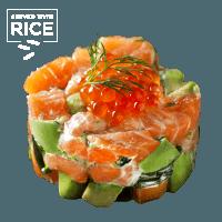 Tartare de saumon & Riz