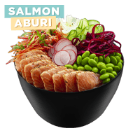 Poke Bowl Salmon Aburi