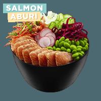 Poke Bowl Salmon Abrui