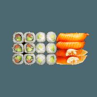 Veg' & Salmon